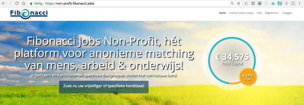 Fibonacci Jobs Non-Profit - Anoniem Solliciteren
